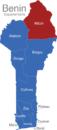 Map Benin Departement Alibori