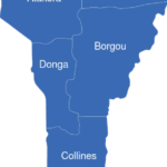 Map Benin Departement Atlantique