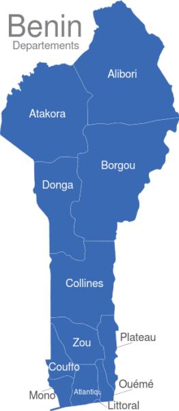 Benin Departement