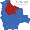 Map Bolivien Departments Beni