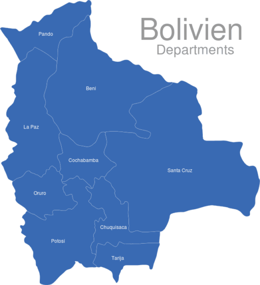 Bolivien Departments
