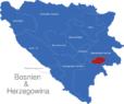 Map Bosnien Herzegowina Kantone Bosnisches_Podrinje