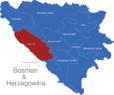Map Bosnien Herzegowina Kantone Kanton_10
