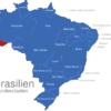 Map Brasilien Bundesstaaten Acre
