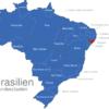 Map Brasilien Bundesstaaten Alagoas