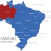 Map Brasilien Bundesstaaten Amazonas