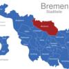 Map Bremen Stadtteile Blockland