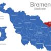 Map Bremen Stadtteile Borgfeld