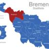 Map Bremen Stadtteile Burglesum