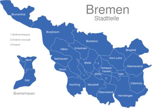 Bremen Stadtteile
