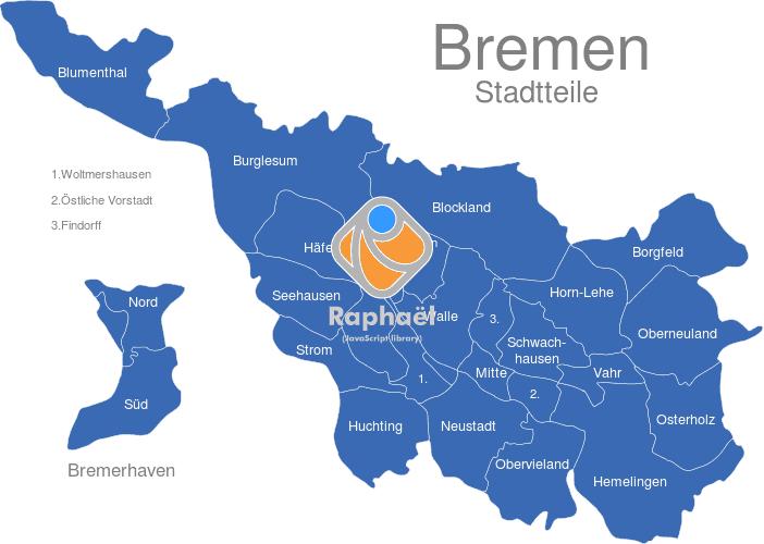 Potsdam Karte Stadtteile.Bremen Stadtteile