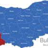 Map Bulgaria Bezirke Oblaste Blagoewgrad