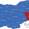 Map Bulgaria Bezirke Oblaste Burgas
