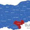 Map Bulgaria Bezirke Oblaste Chaskowo