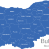 Map Bulgaria Bezirke Oblaste Dobritsch
