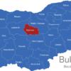 Map Bulgaria Bezirke Oblaste Gabrowo