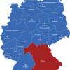 Map Bundesländer Hauptstädte Deutschlandkarte Bayern