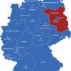 Map Bundesländer Hauptstädte Deutschlandkarte Brandenburg