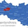 Map Burgenlandkreis Balgstädt