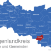 Map Burgenlandkreis Droyßig