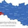 Map Burgenlandkreis Eckartsberga