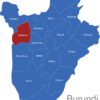 Map Burundi Provinzen Bubanza