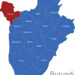 Map Burundi Provinzen Cibitoke