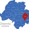 Map Chemnitz Ortsteile Adelsberg
