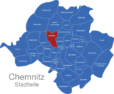 Map Chemnitz Ortsteile Altendorf