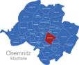 Map Chemnitz Ortsteile Bernsdorf
