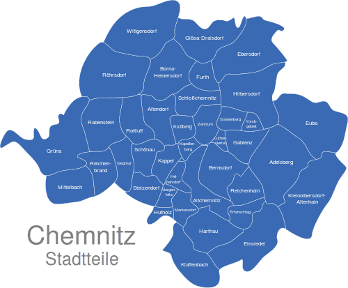 Chemnitz Ortsteile