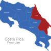 Map Costa Rica Provinzen Limon_1_