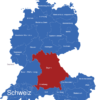 Map D A Ch Karte Mit Bundesländern Bayern_1_