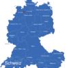Map D A Ch Karte Mit Bundesländern Bremen_1_
