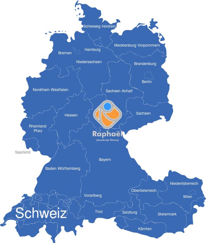 Karte Bundesländer.D A Ch Karte Mit Bundesländern