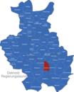 Map Detmold Regierungsbezirk Altenbeken