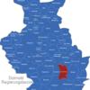 Map Detmold Regierungsbezirk Bad_Driburg
