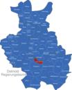 Map Detmold Regierungsbezirk Bad_Lippspringe