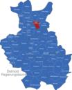 Map Detmold Regierungsbezirk Bad_Oeynhausen