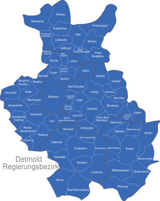 Detmold Regierungsbezirk