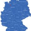 Map Deutsche Regierungsbezirke Bremen