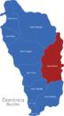 Map Dominika Bezirke Saint_David