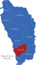 Map Dominika Bezirke Saint_George
