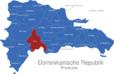 Map Dominikanische Republik Provinzen Azua