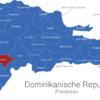 Map Dominikanische Republik Provinzen Baoruco