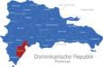 Map Dominikanische Republik Provinzen Barahona