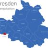 Map Dresden Ortschaften Altfranken