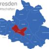 Map Dresden Ortschaften Altstadt