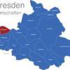 Map Dresden Ortschaften Cossebaude
