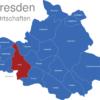 Map Dresden Ortschaften Cotta